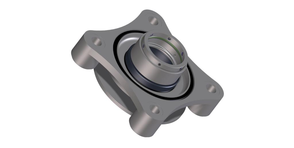 Mechanical seal ter vervanging van de standaard luchtafdichting