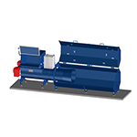Van Beek bag compactor ideal for cheap and efficient disposal of empty bags
