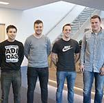 Van Beek welcomes four interns