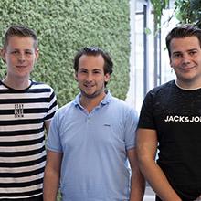 Avans-studenten versterken team van Van Beek