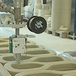 Van Beek screw conveyor component of revolutionary 3D concrete printer
