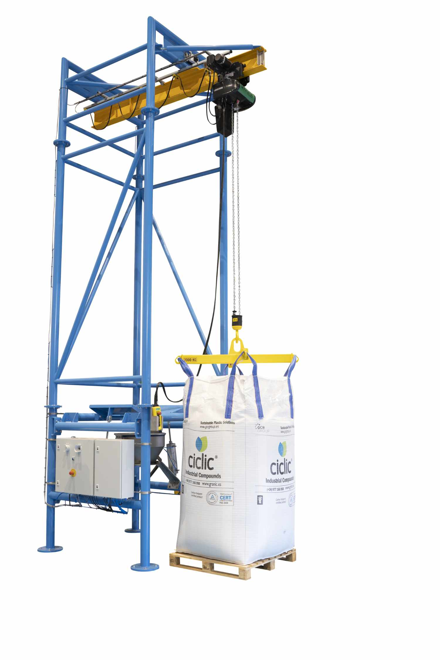 Van Beek's big bag unloading stations: just that little bit different (and here's why!)