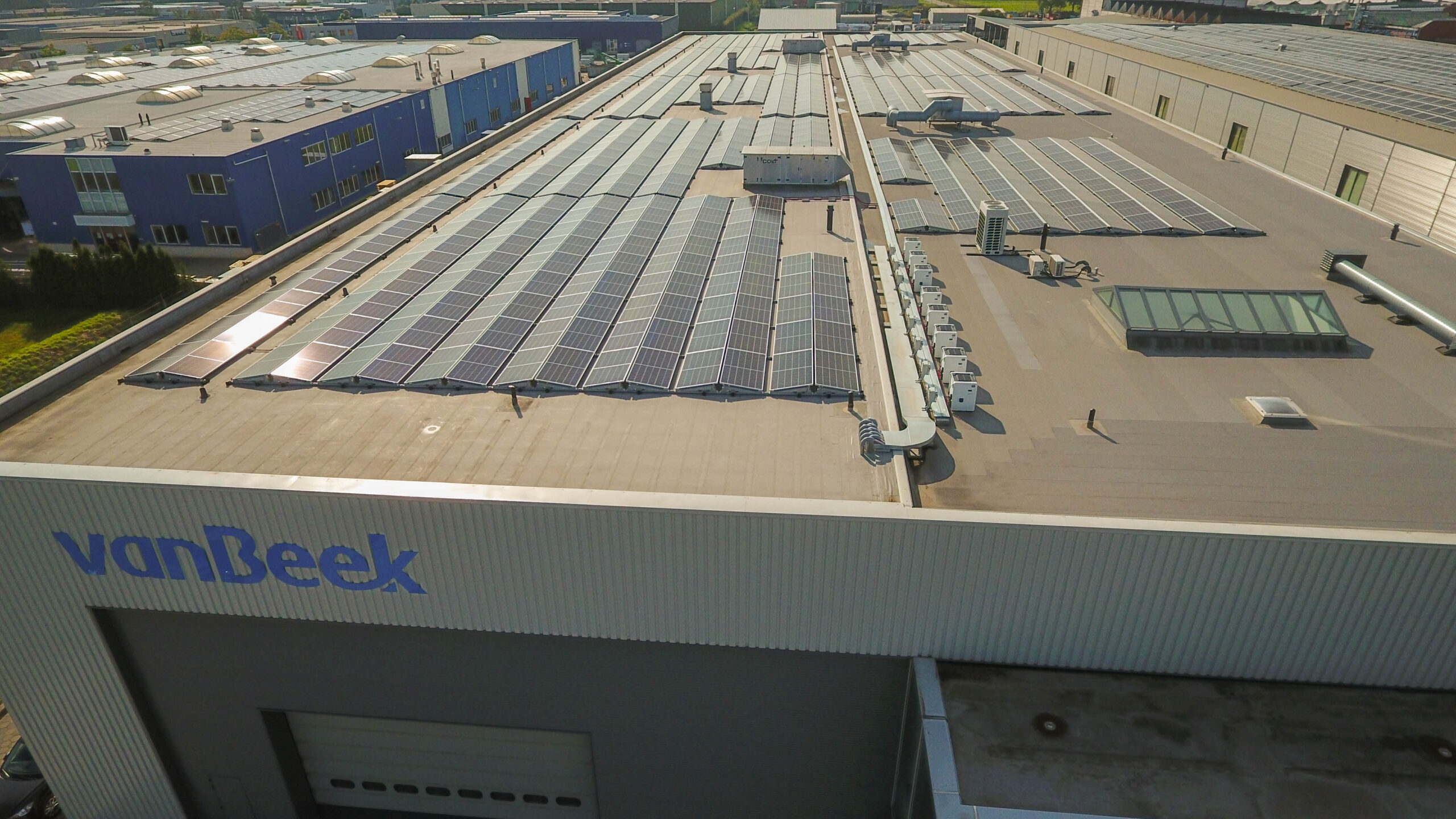 Van Beek takes next step in sustainability with 1300 solar panels
